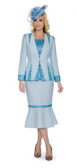 Giovanna, skirt suit, blue dress skirt suit, 0912