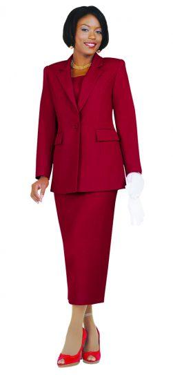 Benmarc, Usher Suit, Style 2295, White, Black, Navy, Red