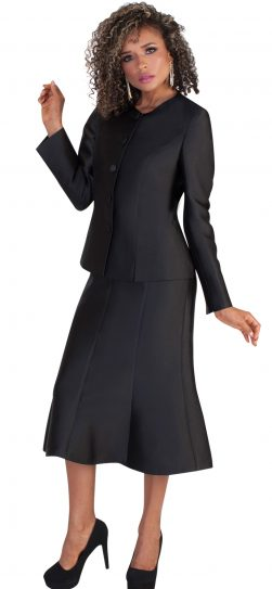 tally Taylor,skirt suit,4636,black
