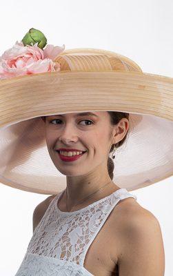 ladies wide brim hat, aj615s