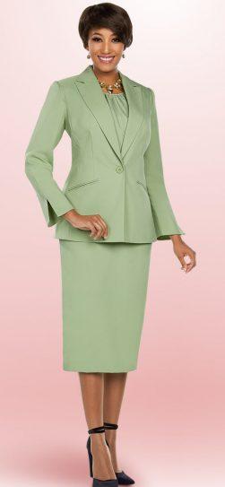 benmarc executive, sage skirt suit, 11756, size 14-34