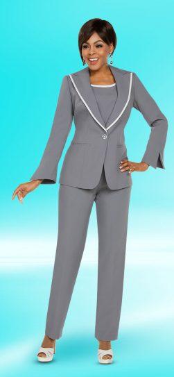 benmarc-executive, style 11766, charcoal-white, size 12-30