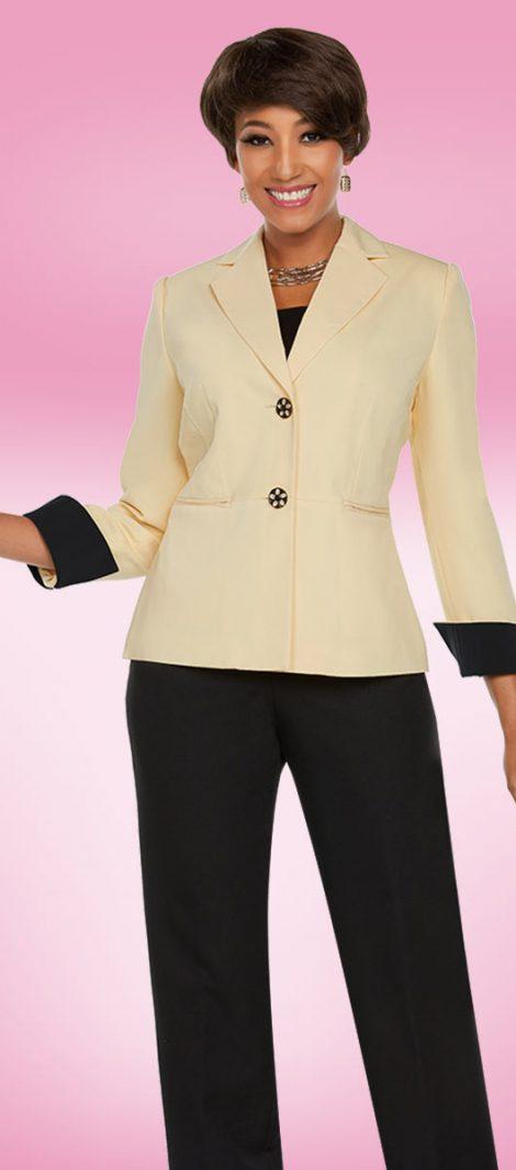 benmarc executive, style 11768, banana-black, size 8-20