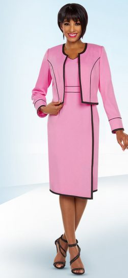 benmarc executive, 11778, pink jacket dress