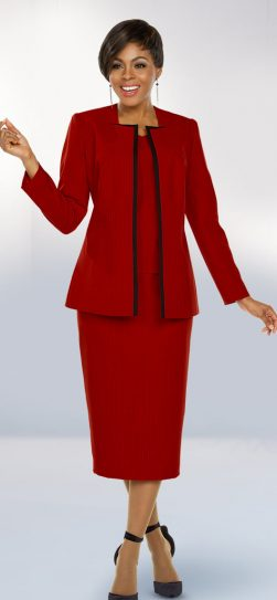 benmarc executive, 11784, red skirt suit, red church suit