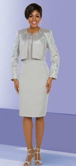Benmarc Executive, 11789, platinum jacket dress
