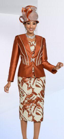 benmarc,48167, paprika skirt suit