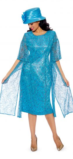giovanna, lace dress, d1352, turquoise lace dress, ladies church dress
