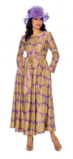 giovanna, d1354, print dress