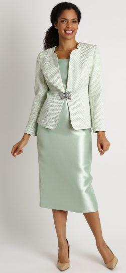 Diana, 8401, mint skirt suit, mint church suit