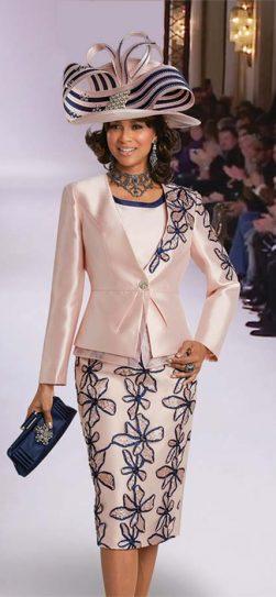 Donna Vinci, Ladies church suit, 11743, pink Donna Vinci