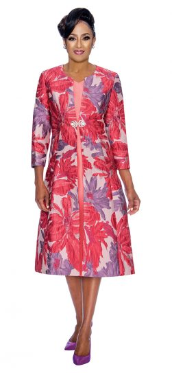 Dorinda Clark-Cole,dcc1322,violet jacket dress