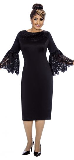 dorinda clark-cole, dcc1921, black tie dress