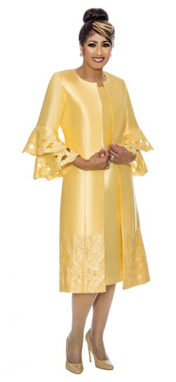 dorinda clark-cole, dcc1932, yellow church dress