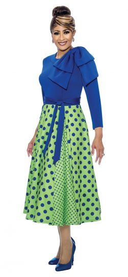 dorinda clark-cole, dcc1971, royal-lime dress