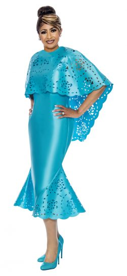 dorinda clark-cole, turquoise dress, DCC1992