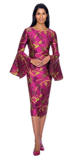 dress by nubiano, DN2911, Womens church dress