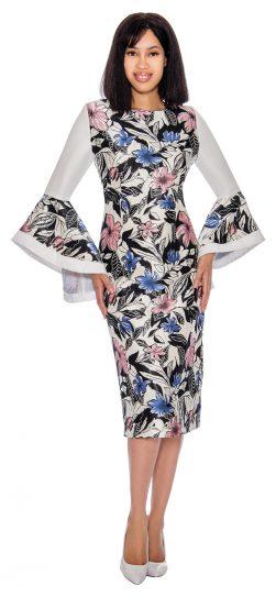 giovanna, dn2951, printed church dress