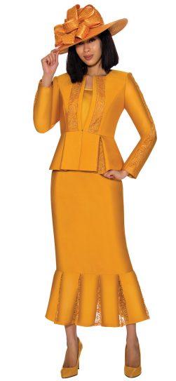 gmi, 7123, gold church suit