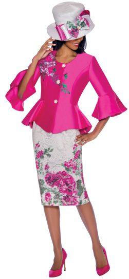 gmi, 7162, fuschia church suit, ladies church suit