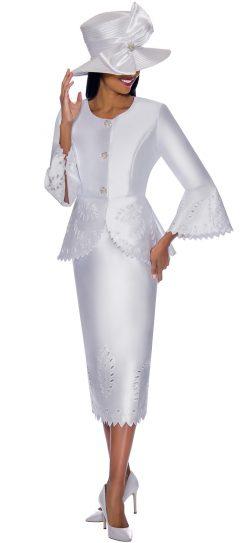 gmi, 7192, white ladies church suit
