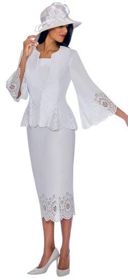 gmi, 7253, white skirt suit