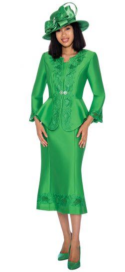 GMI-7302,emerald church suit, women's church suit