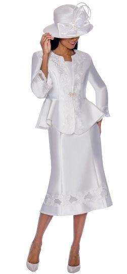 gmi, 7302, white church suit