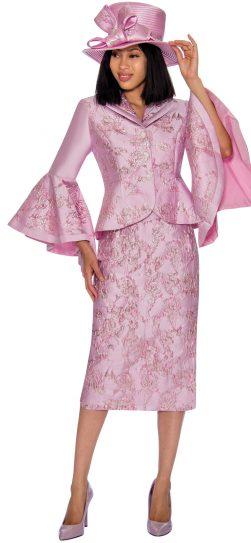 gmi, 7372, pink ladies church suit