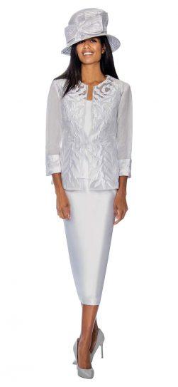 GMI, GMI skirt suit, GMI Church suit, womens skirt suit, women's church suit,g6813,white