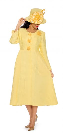Giovanna, Dress and jacket, 0915, yellow jacket dress