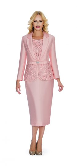 giovanna, 1007, pink skirt suit