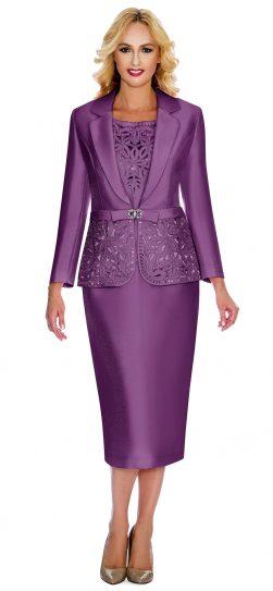 giovanna,lavender skirt suit, lavender suit, 1007