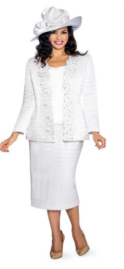 Giovanna, skirt suit, g1011, pure white church suit, dressy white church suit
