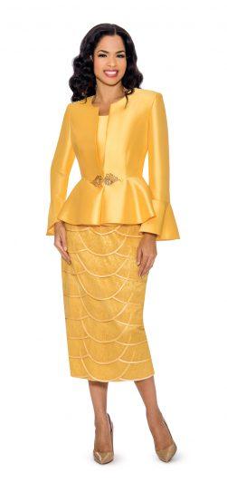 giovanna, gold skirt suit, g1060