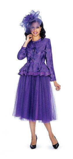 giovanna, purple skirt suit, g1080