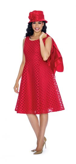 giovanna, dress and jacket, red dress,g1081