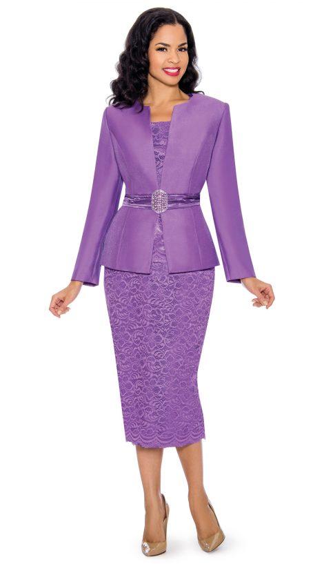 Giovanna, lavender church suit, lavender skirt suit, G1083