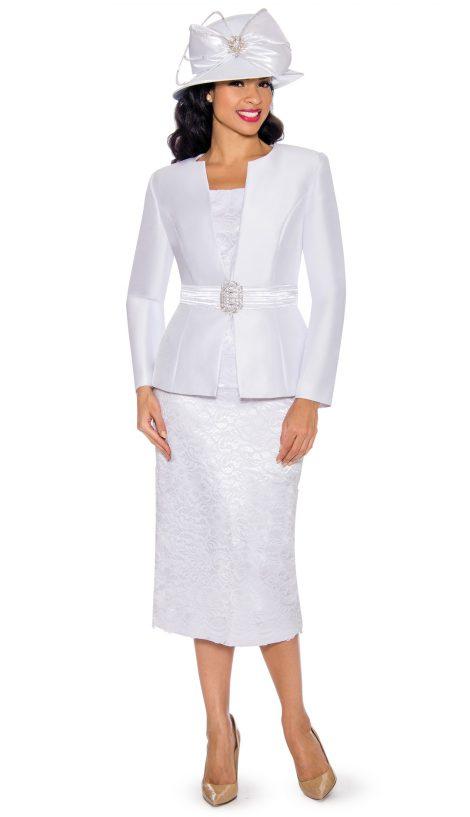 Giovanna, g1083, white church suit