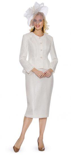 giovanna, skirt suit, church suit, white church suit, G1087