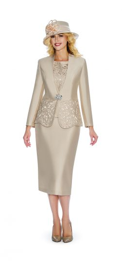 giovanna, g1088, champagne skirt suit, champagne church suit