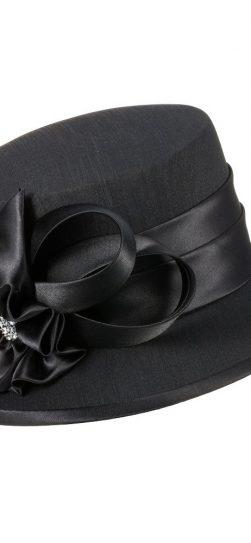 giovanna, hm944,black church hat