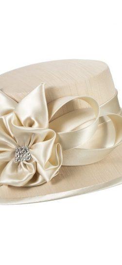 giovanna, hm944,champagne church hat