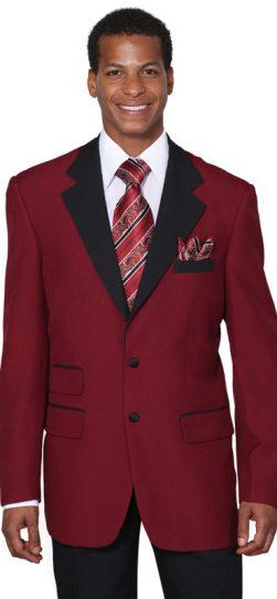 longstry, two tone burgundy-black, mens suit, 7022