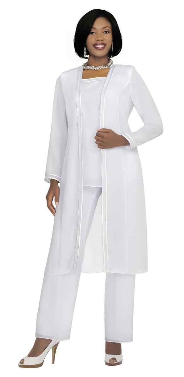 Misty Lane 3 Piece Pant Suit 13062 Size 6-34