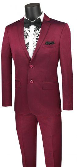 vinci, plum mens suit,US2R-2