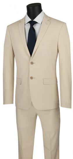 vinci,beige mens suit, USDX-1