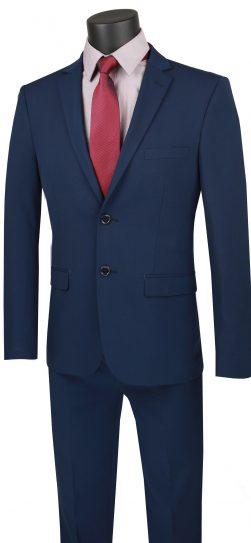 vinci, navy mens suit, usdx-1