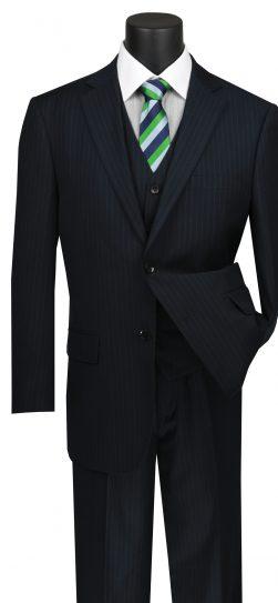 vinci, mens suits, navy mens suit, v2rs-7