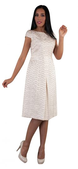 chancele, ivory dress, 9510